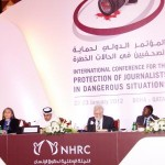 INTERNATIONAL CONFERENCE FOR THE PROTECTION OF JOURNALISTS IN DANGEROUS SITUATIONS RITZ-COLTON, DOHA (January 22-23, 2012)